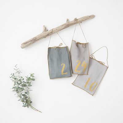 NUMERO 74  ADVENT CALENDAR GIFT BAG アドベントカレンダー(MIX BLUE)